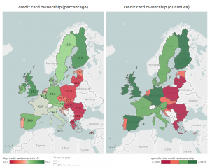 Credit card ownership in Europe