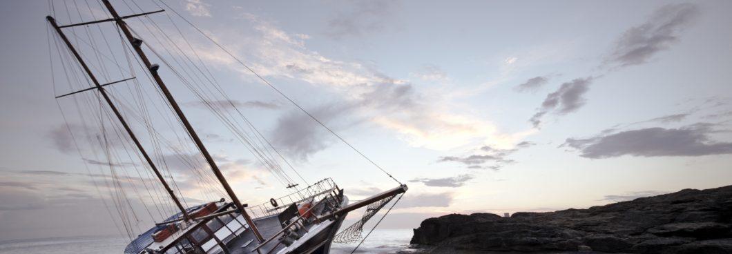 bateau qui a chaviré