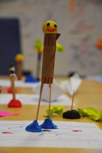 prototype réalisé lors d'une séance de Design Thinking