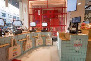 magasin delhaize à Bruxelles