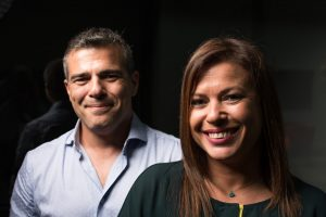 Diego and Carolina Campoamor, clients of a market research on natural cosmetics