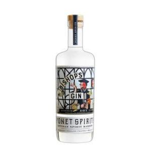 fles van Bishop's Gin