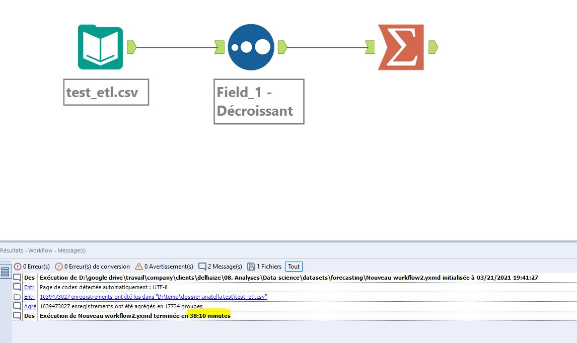 processing 1 bn Alteryx