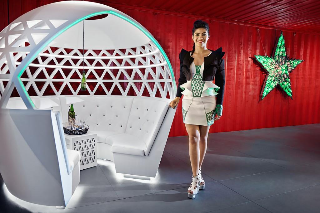 Heineken Pop-Up City Lounge at London Design Festival