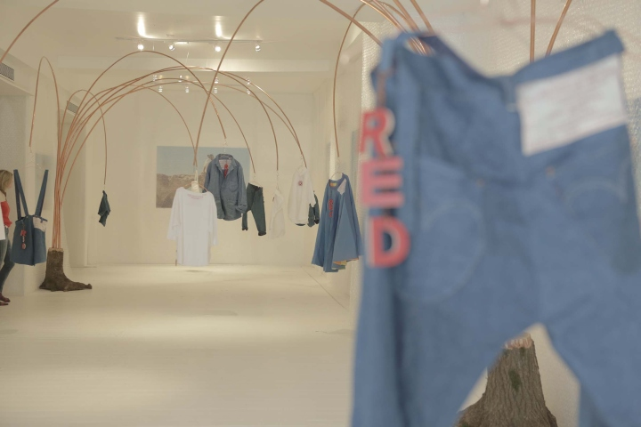 Levi's RED Pop-Up Store au Meatpacking District de New York