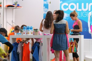 The Colun pop-up store : pays but … with calories !