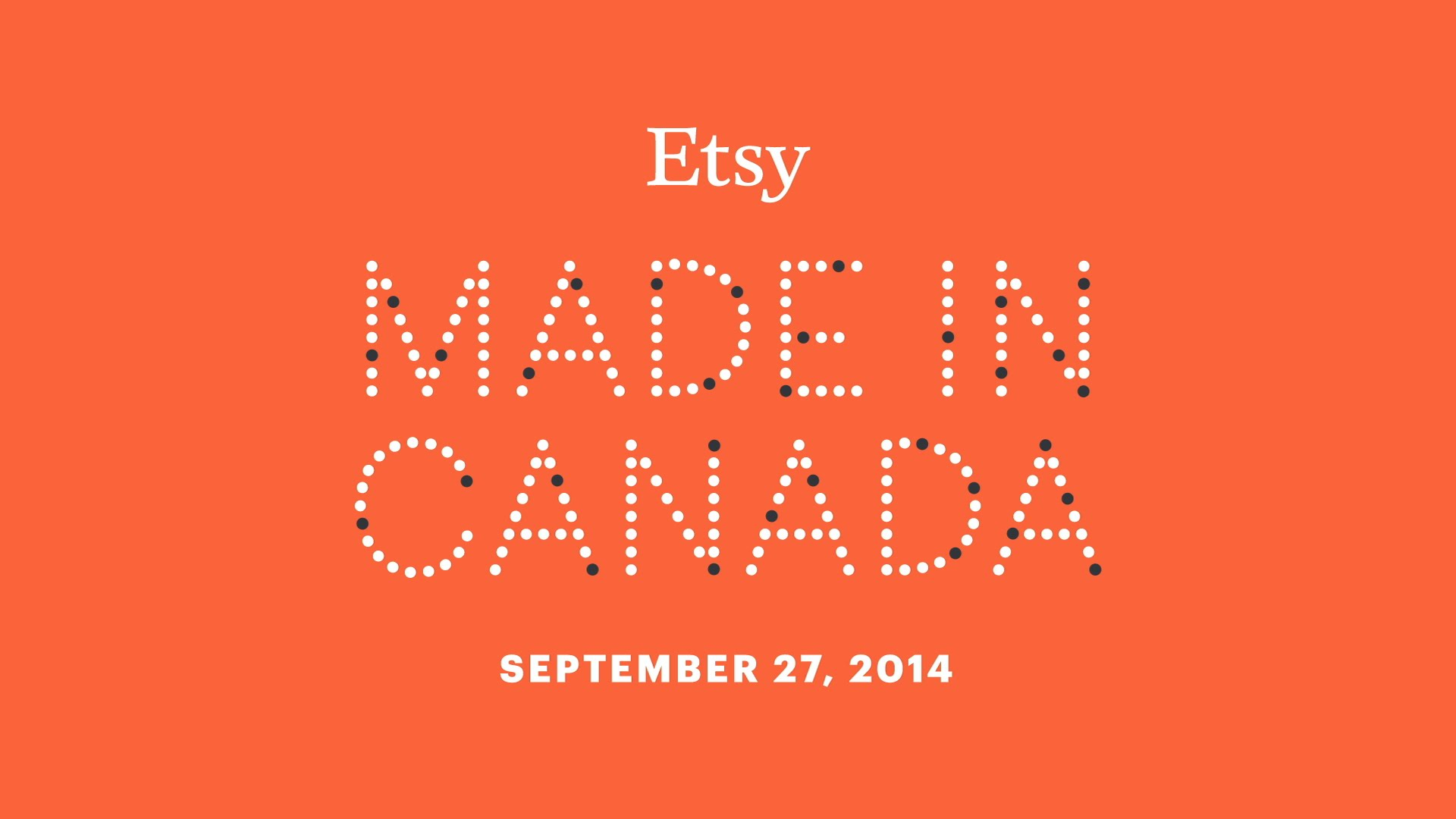 """ Fait au Canada "" – Etsy Pop-up Shop au Montreal"