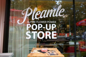 The first Pleamle Pop-Up Store in Vienna
