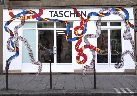Taschen – nouveau concept « bookworms » à pop-up Store Paris Marais