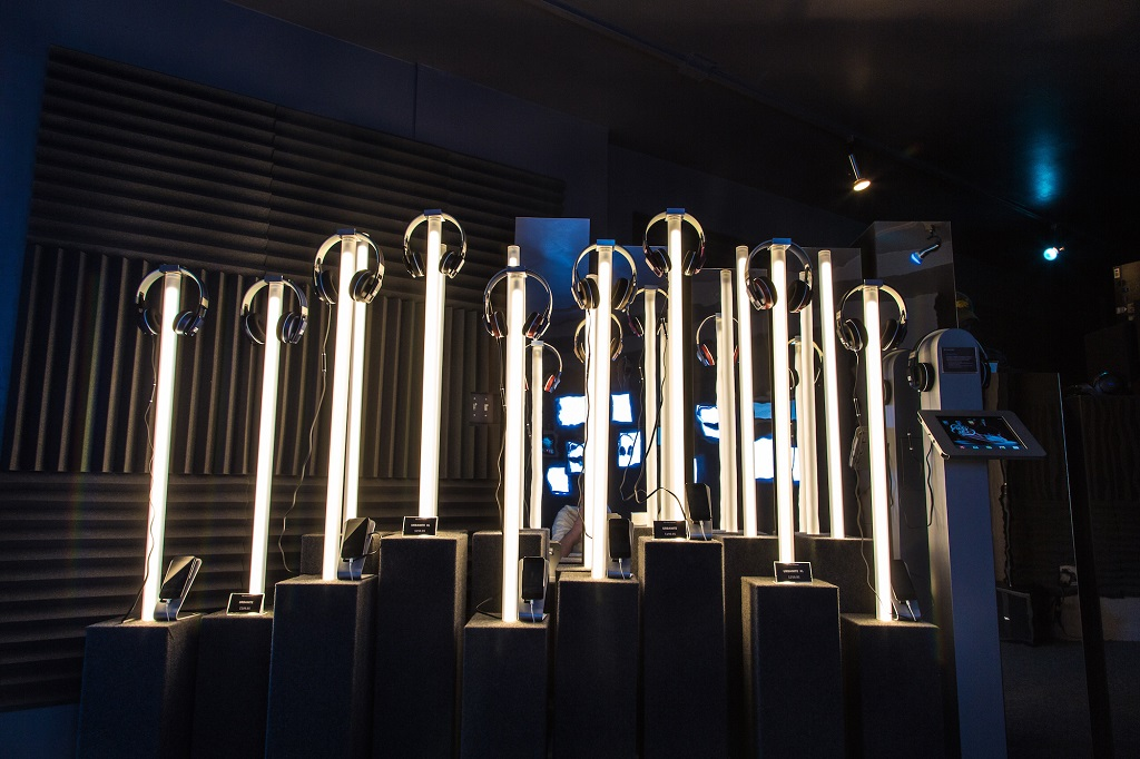 Headphone Manufacturer Sennheiser ouvre son Experiential Pop Up pour les fêtes
