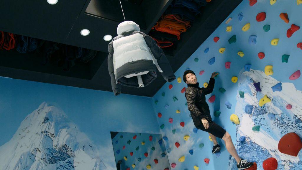 Le défi de pop-up North Face : ne jamais arrêter d'explorer !