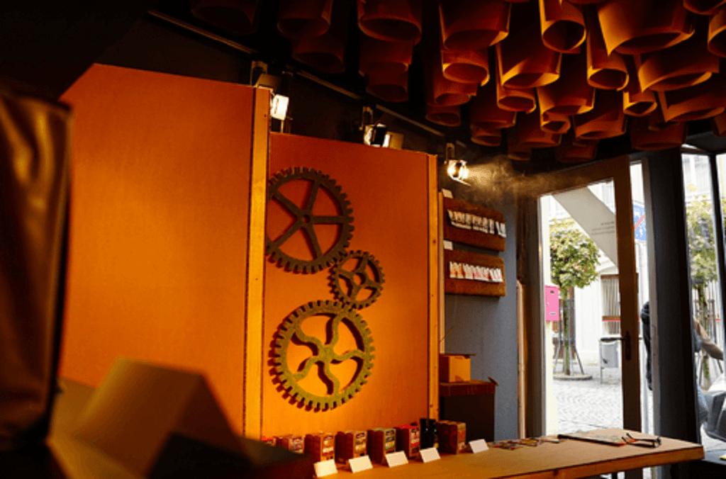 Des pousses en harmonie avec la nature : le pop-up store Meinwoody