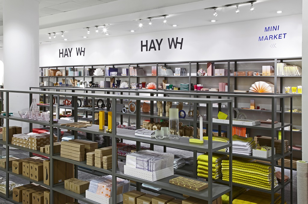 Mini Market HAY & WRONG FOR HAY – pop-up au Selfridges