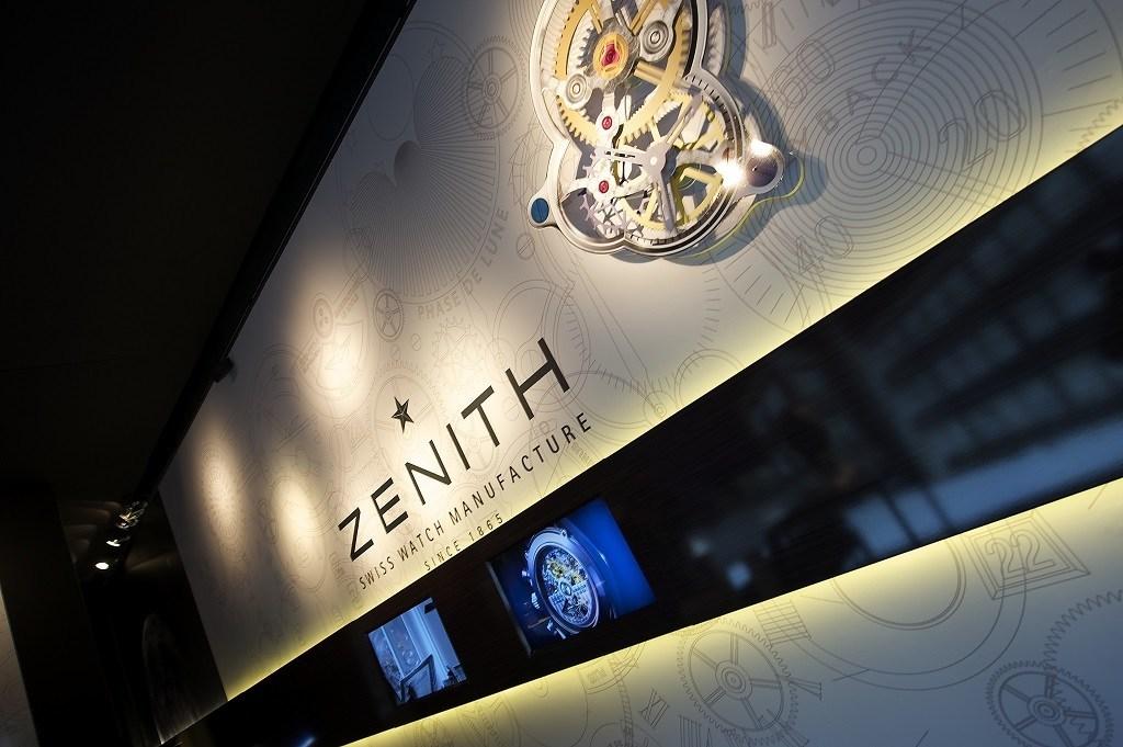 Zenith's first pop-up store opens in Brussels, features El Primero exhibit