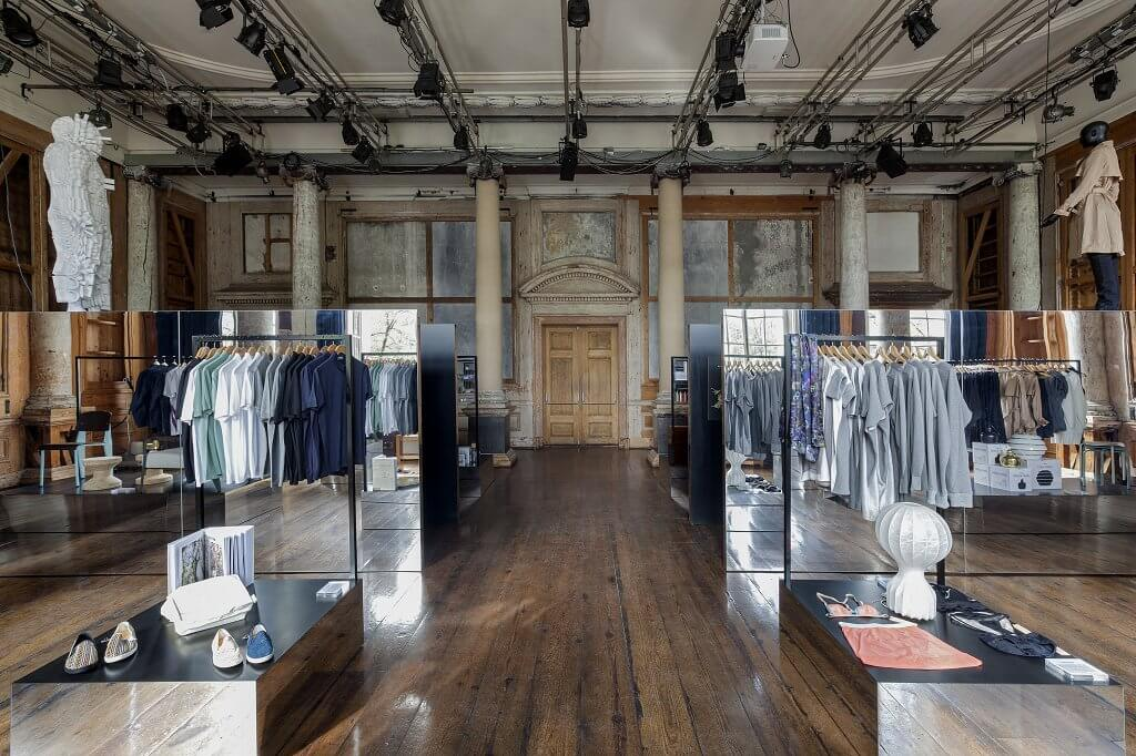 Architectes d'intérieur i29 & Frame Store gagnants des FX Awards 2014, espace de vente au détail