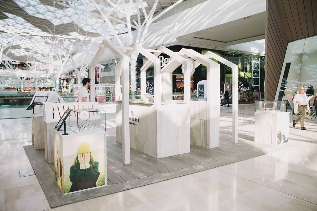Shore Projects ouvre son premier pop-up store à Westfield