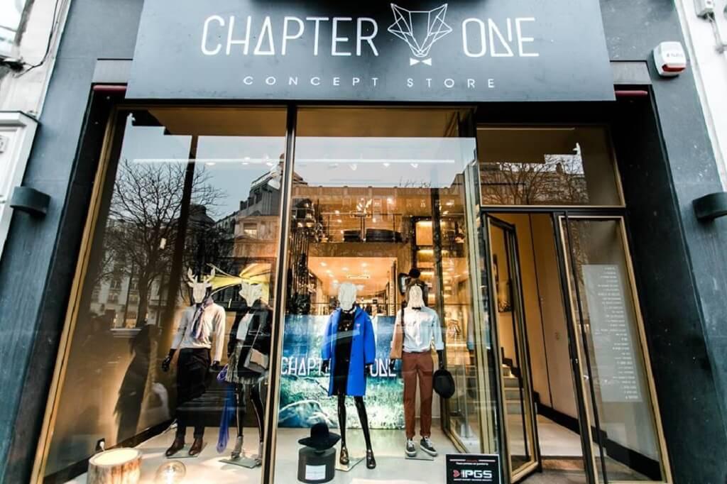Chapitre One – un pop-up store de la création de belge à Bruxelles