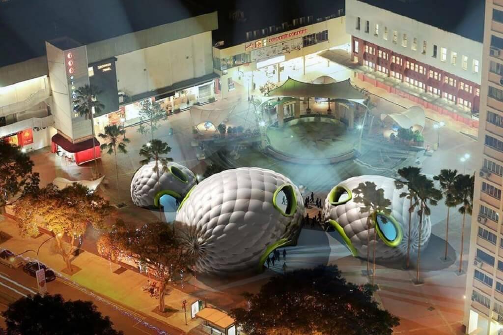GoLi, le premier pop-up théâtre gonflable à Singapour