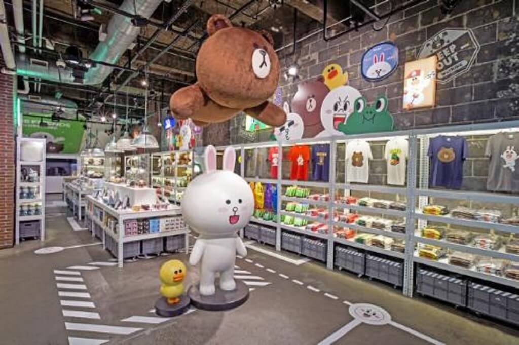 Le tout premier Line Friends pop-up Store à New York