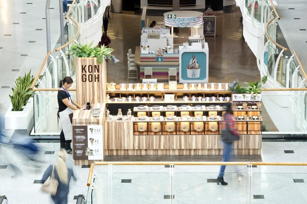 Kongoh pop-up store propose des  tentations exotiques de chocolat au Diagonal Mar