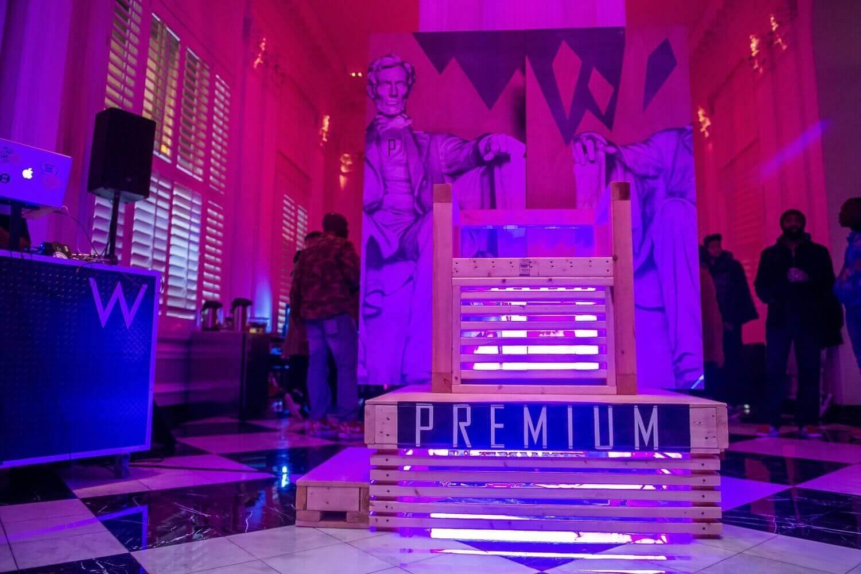 Premium Pop-Up Shop at the W. hotel in Washington