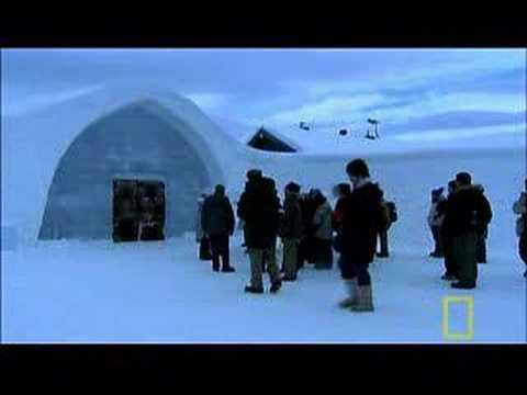 Jukkasjärvi – POP-UP ICEHOTEL le plus incroyable du monde