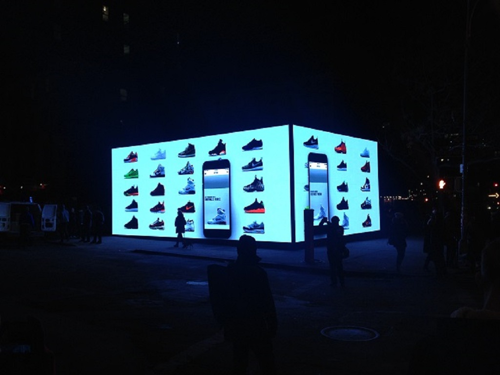 Nike Launches SNKRS App With Giant Shoe-Box Pop-Up Store During All-Star Weekend