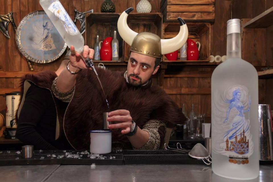 Spirit of Nordic legends : Valhalla Vodka Bar at Skylounge