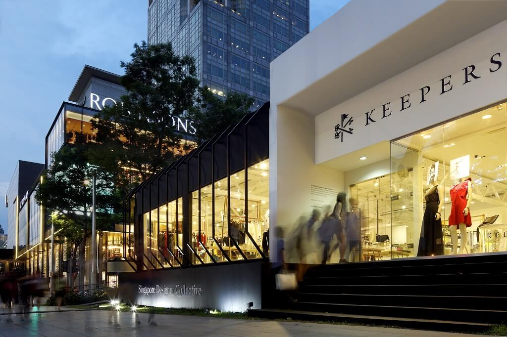 KEEPERS Singapore Design Collective presents Orchard Road's biggest pop-up store