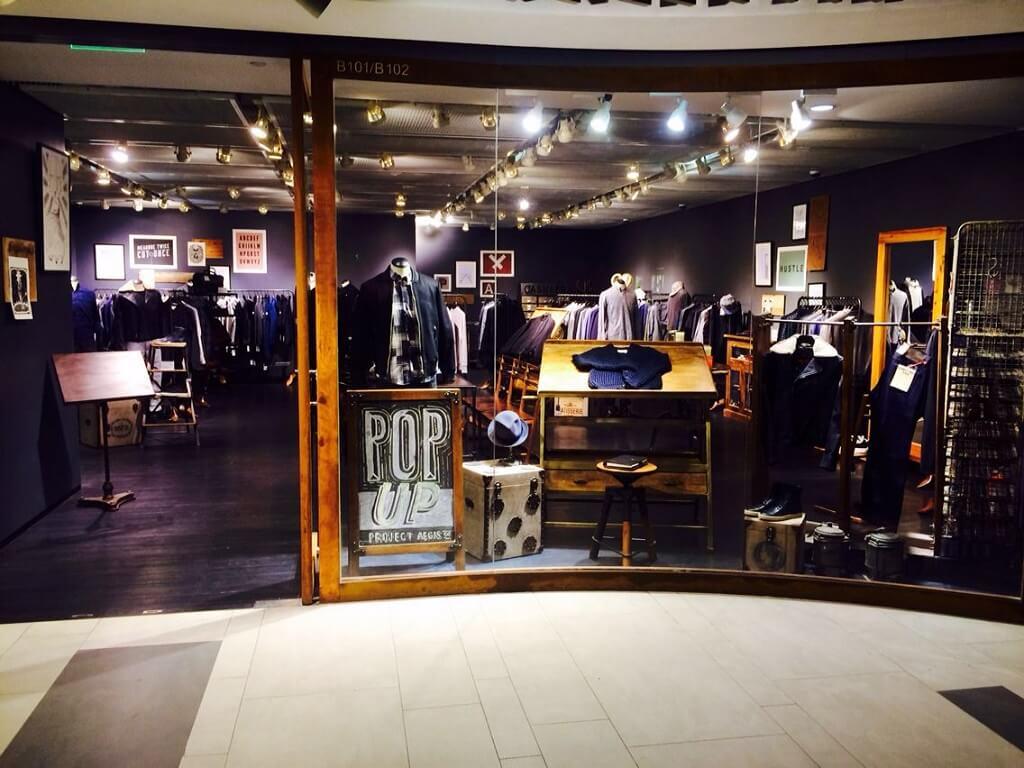 Project Aegis Pop Up Shop au K11 Art Mall à Shanghai
