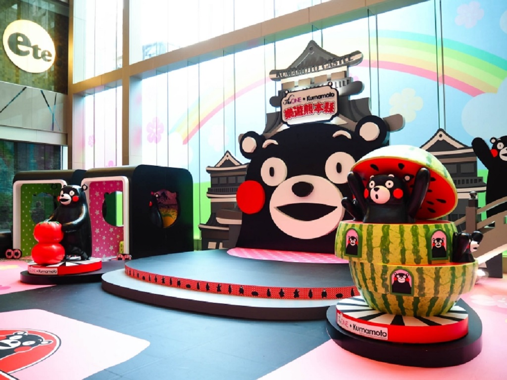 The ONE & Kumamoto pop-up store in Hong Kong