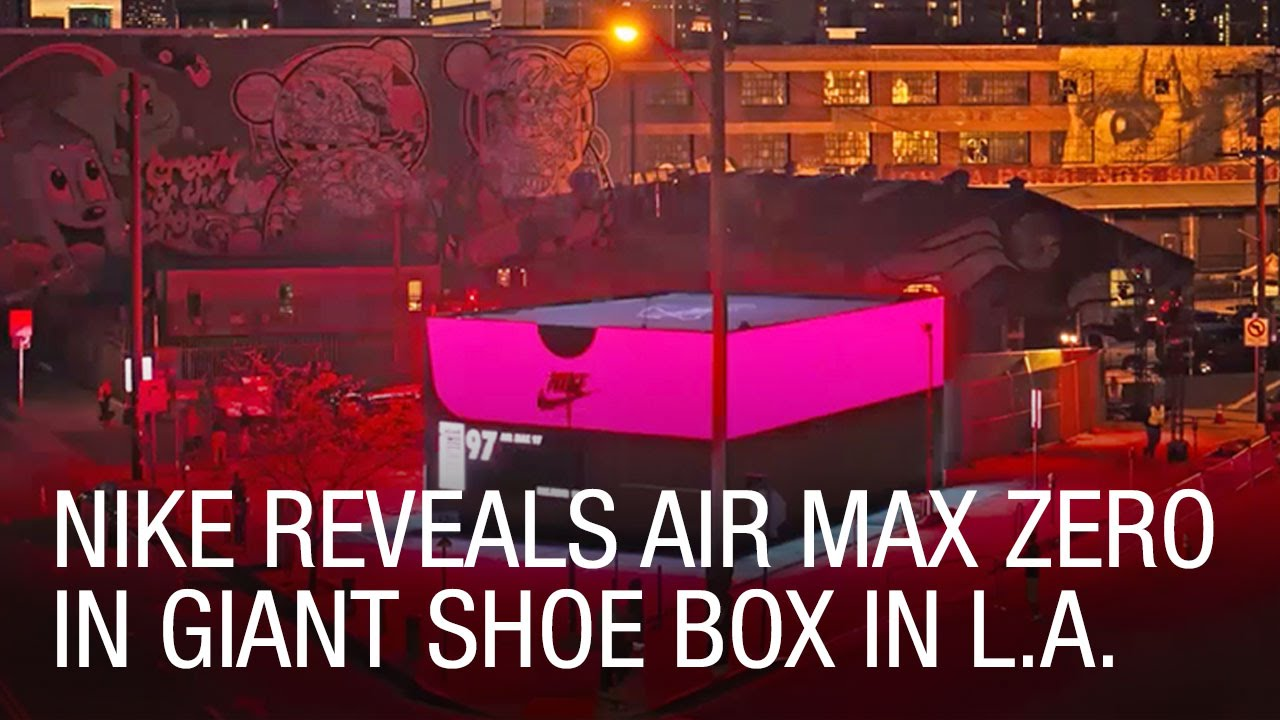 Nike Air Max Box Pop Up Shop celebrates Air Max Day in Los Angeles