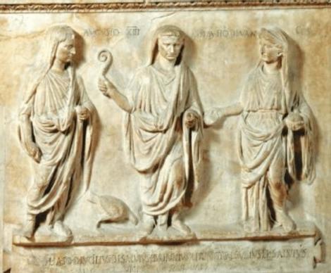 Auguste en augure grec