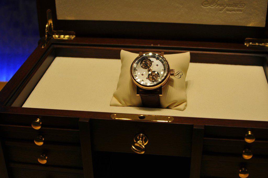 Une semaine consacrée à l'industrie horlogère de luxe