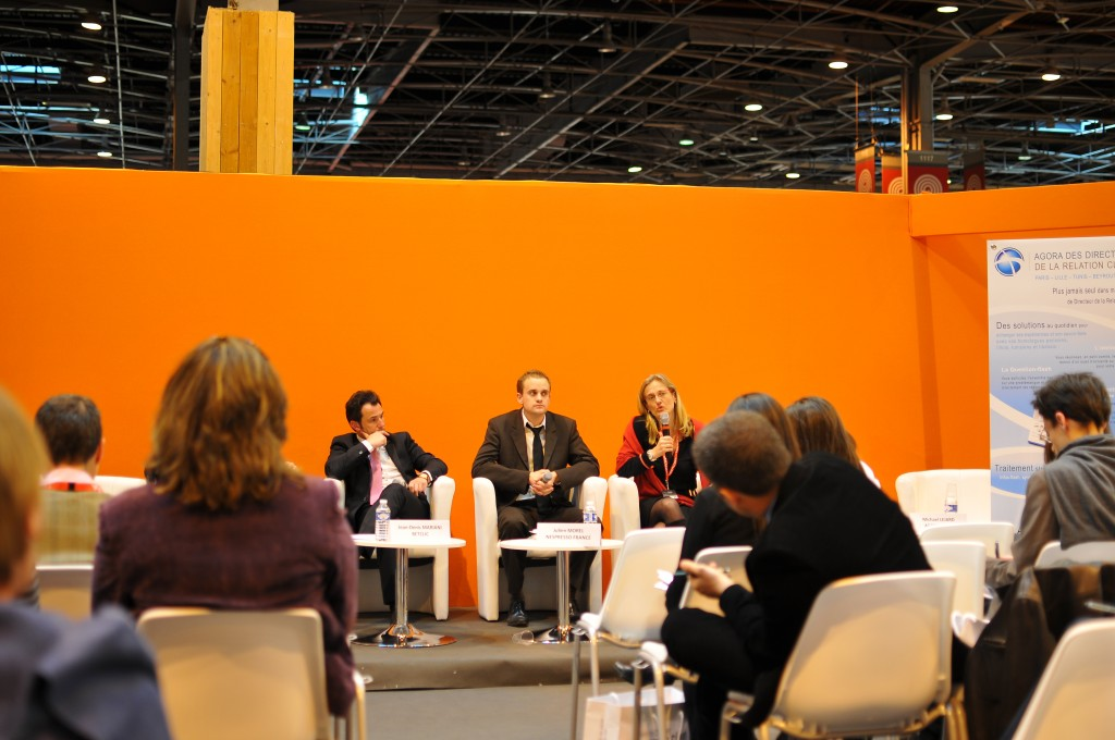 Customer experience in Paris : « stratégie clients » trade show
