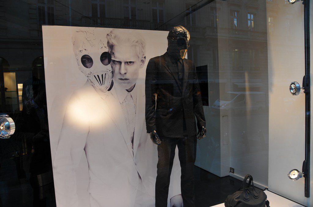 Une boutique Givenchy déconcertante