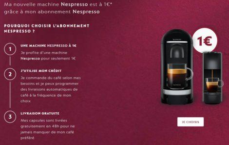 L'offre par abonnement de Nespresso