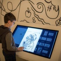 L'IA enrichit l'expérience des visiteurs de l'exposition Alechinsky