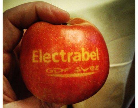 Pas besoin d'être Apple pour faire sa pub avec des pommes