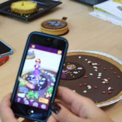 SIAL 2016 : un gâteau innovant utilisant la «réalité augmentée»