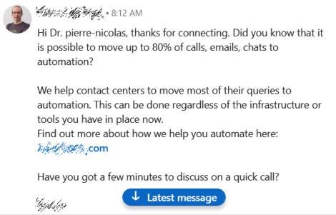 automated linkedin invitation
