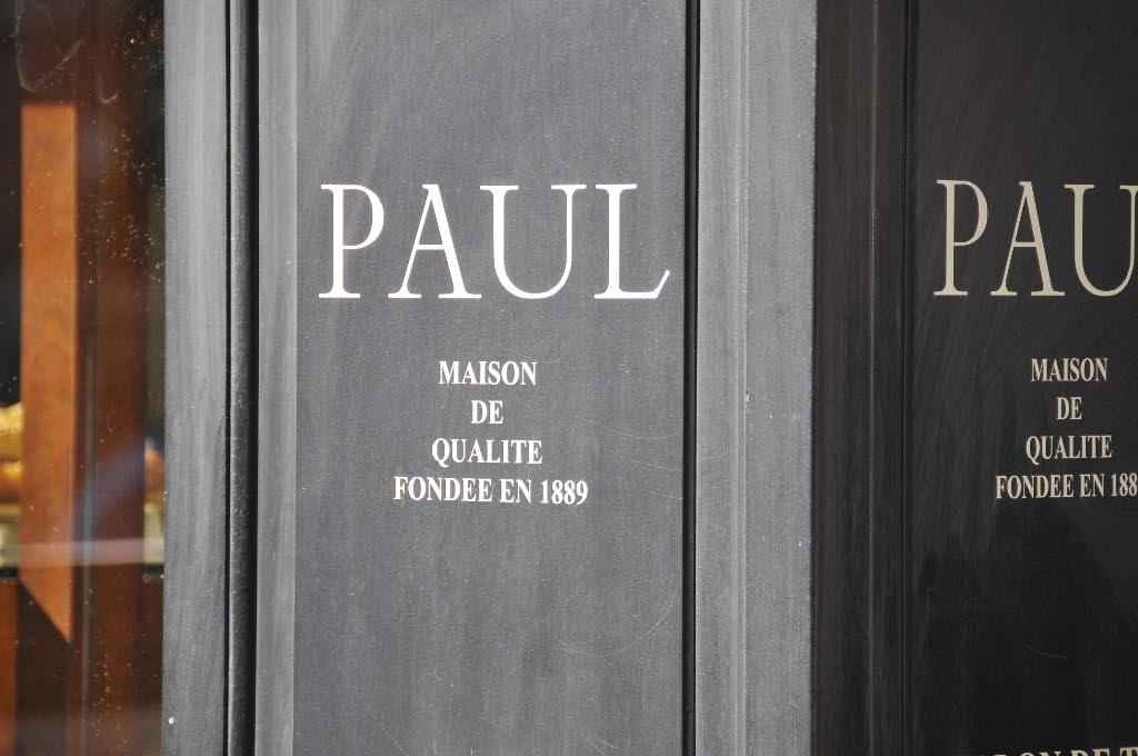 Logo de la boulangerie Paul