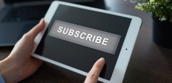 Marketing strategy. The subscription business model is changing radically.