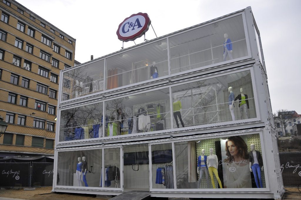 C&A launches a (too) temporary store in Brussels