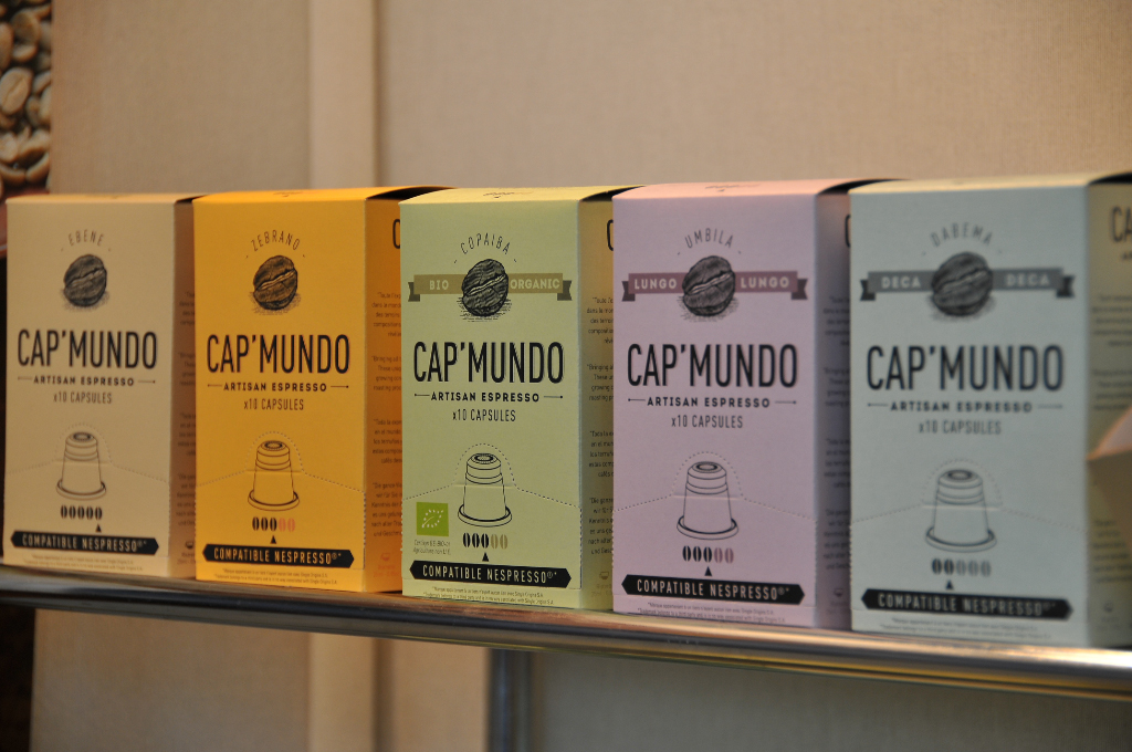 New competitors entering the coffee capsules' market