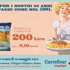 Carrefour fête son anniversaire en vendant aux prix d'il y a 50 ans