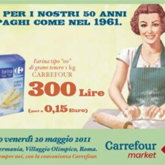 For its anniversary Carrefour sells at prices of 50 years ago