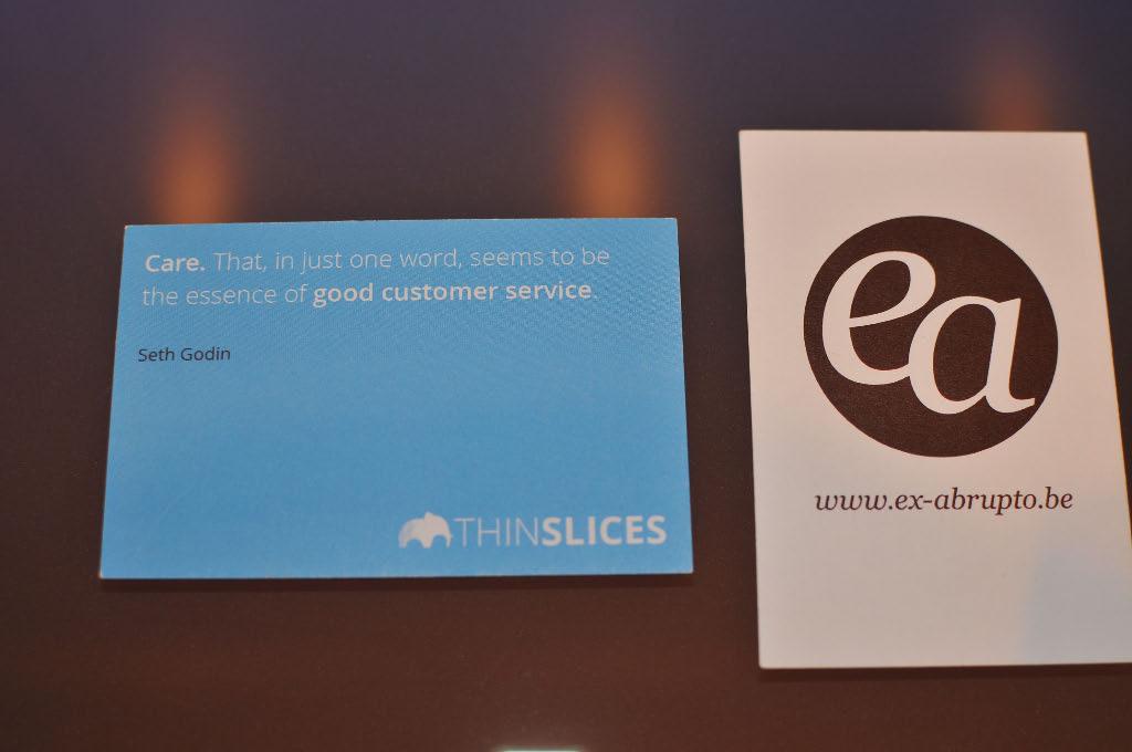 Etiquettes Agence Marketing Belgique Experience Client