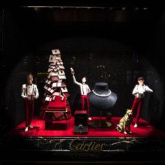 Innovation Retail : les vitrines de Noël de Cartier à Paris