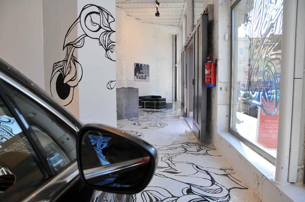 Citroën ephemeral store in Brussels